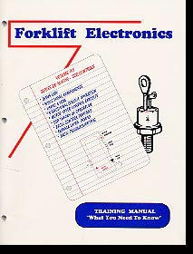 basic electronics electric forklift training manual rh forklift electronics com Electric Forklift Crown Forklifts
